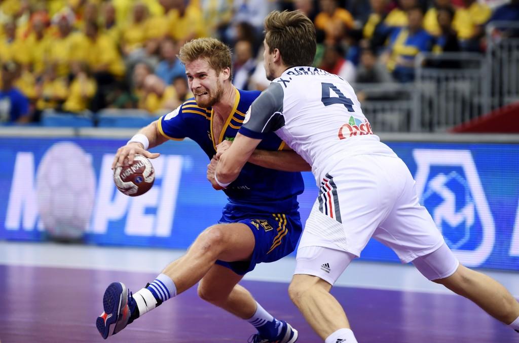 Handboll, VM, Frankrike - Sverige